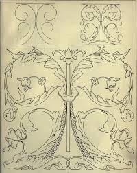 freehand ornament drawing rare ilrated book on decorative design with 192 decoration templates p