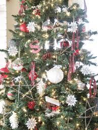 Plaid Christmas Tree Red White And Plaid Christmas Tree The Wicker House
