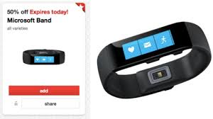 Target Microsoft Band Target 30 Off Womens Shoes Bags Jewelry 50 Off Microsoft