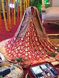 Saree Tray Decoration Bou sari Bangladeshi wedding Tanzir Weds LubnaBengali Wedding 99
