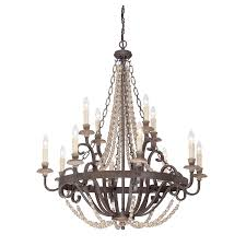 chandeliers crystal modern iron shabby chic country french