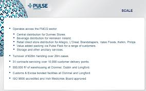 Dunnes Stores Organizational Chart Summary Pulse Logistics Acquired The Trading Assets Of