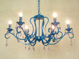 chandelier painting a wall