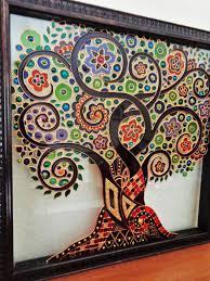tree of life wall art painting