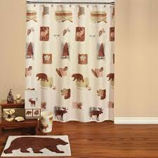 Maroon Bathroom Accessories Yukon Thunder Rustic Shower Curtain And Bathroom Accessories