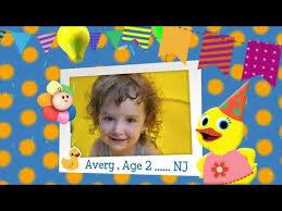 BabyFirst BDay - October BDay - 5 - Alia Isabella, Ethan, Avery, Nicholas,  Mckinsey-Marie, Giovanni, - YouTube
