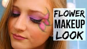 fun flower makeup tutorial