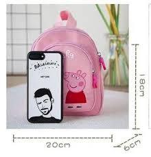 2 шт./пара розового цвета со <b>Свинкой</b> Пеппой; Школьные <b>сумки</b> ...