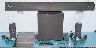 home theater wireless speakers. a photo look at the vizio vht510 5.1 channel home theater system with wireless subwoofer speakers t