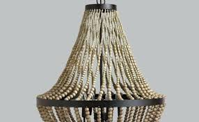wood bead chandelier australia wooden beaded chandeliers south africa bali beautiful independent homes home improvement fascinating
