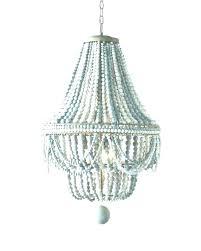 wooden beaded chandelier white wood bead iron bali
