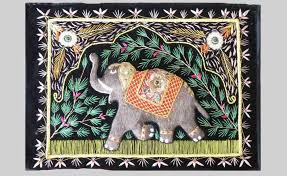 pretty looking indian wall hangings best of hand embroidered elephant indian wall hangings jc4 navyas