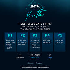 Bts World Tour 2018 Seating Chart Day6youthinna Seating Charts Release Ticket Sales