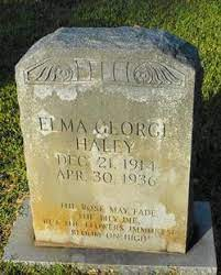 Elma George Haley (1914-1936) - Find A Grave Memorial