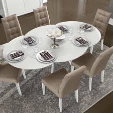 66 Round Dining Table Mark Harris Roehampton Black Glass Extending Dining Table With 4