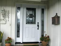 white craftsman front door. Plain Craftsman White Entry Doors With Sidelights Door Craftsman Front And