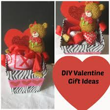 diy valentines gift baskets for her diy do it your self for valentine gift ideas for
