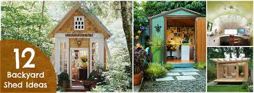 one of my neighbors and best friends turned an old backyard shed into a creative office space and now im inspired id love to build an office space backyard shed office