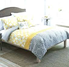 gray and white bedspread yellow gray and white bedding yellow and grey comforter sets amazing yellow