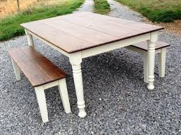Farmhouse Kitchen Furniture Farm Tables For Dining Room Kitchen Bath Ideas Elegance