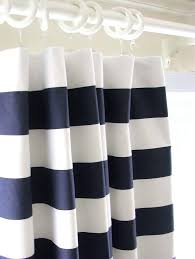 navy and white striped curtains blue a navy blue striped curtains navy and white horizontal striped