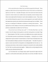 women essay essay on problems of women in modern short essay on if  pink think essay pink think essay in the country that we live in this preview has