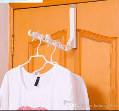 Behind The Door Coat Rack 100 Clothes Rack Foldable Coat Hanger 100 Hole Plastic Hangers 46
