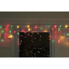 Gold Christmas Lights Lowes Northlight Set Of 150 Multi Color Mini Icicle Christmas