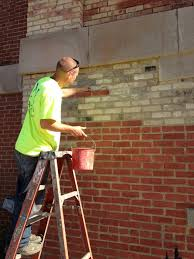 Restoration Projects The Old McHenry County Courthouse - Exterior brick repair