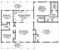 Small 2 Bedroom 2 Bath House Plans 3bedroom 2 Bath Open Floor Plan Under 1500 Square Feet Really