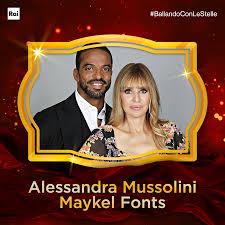 Ballando con le stelle - 📲 Per sostenere Alessandra Mussolini e Maykel  Fonts vota con un mi piace 👍 #BallandoConLeStelle