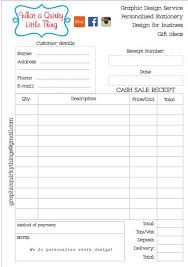 Petty Cash Receipt Template Amazing Cash Receipt Book Printable Petty Cash Receipt Receipt Etsy