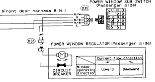power window master switch problem replaced > still have problem and here s a schematic of the master switch
