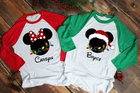 Mickey Christmas Lights Mickey Christmas Lights Shirt Minnie Christmas Lights Shirt