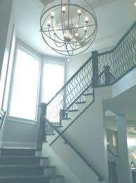 modern foyer chandeliers 2 story entryway lighting stunning modern foyer chandelier 2 story foyer chandelier round