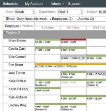 Staff Schedule Template New Employee Schedule Template Shift Scheduler Kenicandlecomfortzone