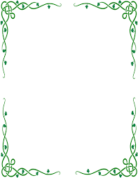 Printable Green Borders Download Them Or Print