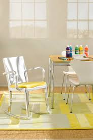 colors for home office walls kids contemporary with crafts area yellow rug geometric rug