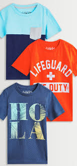 Fabkids Size Chart Lifeguard Colorblock Graphics 3 Pack
