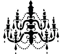 free chandelier clip art chandelier stencil 6 free chandelier vector clip art