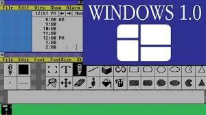 Windows 1 A Tour Of Windows 1 0 Software Showcase