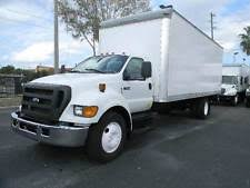 used truck lift gates 2007 ford f 650 24ft box truck low miles lift