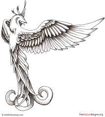 Drawings Of Phoenix Phoenix Tattoos 75 Cool Designs
