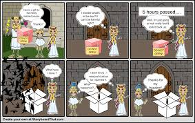 pandora s box part storyboard by priscila