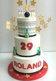 Cake Ideas For Mens 60th Birthday Cakes Designs Bowling Night