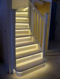 Under stairs lighting Railing Goodbye Stubbed Toes Basement Lighting Stairway Lighting Lights On Stairs Staircase Lighting Ideas Pinterest 50 Best Led Lighting Ideas For Staircases Images Stairway Lighting