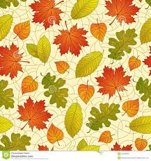 Fall Leaf Pattern Classy Autumn Leaves Pattern Stock Vector Illustration Of Pattern 48