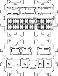 Nissan Rogue Fuse Diagram Nissan Rogue Illustration