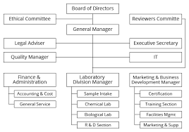 Bright Food Manufacturing Organizational Chart Manufacturing