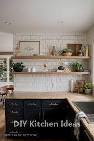 Open Shelf Design For Kitchen Diy Kitchen Timeless Design Ideas Kitchens Kitchendecor